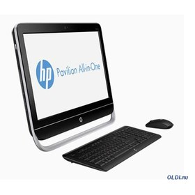 "HP Pavilion 23-b104er 23"" Core i3-3220, 6GB DDR3 (1x4GB+1x2GB), 1TB 7200 RPM SATA, NVIDIA GeForce GT 610M, DVD+/-RW, usb wired kbd/mouse, Win 8 (64bit) + MSOf 2010 trial p/n: D2M77EA"